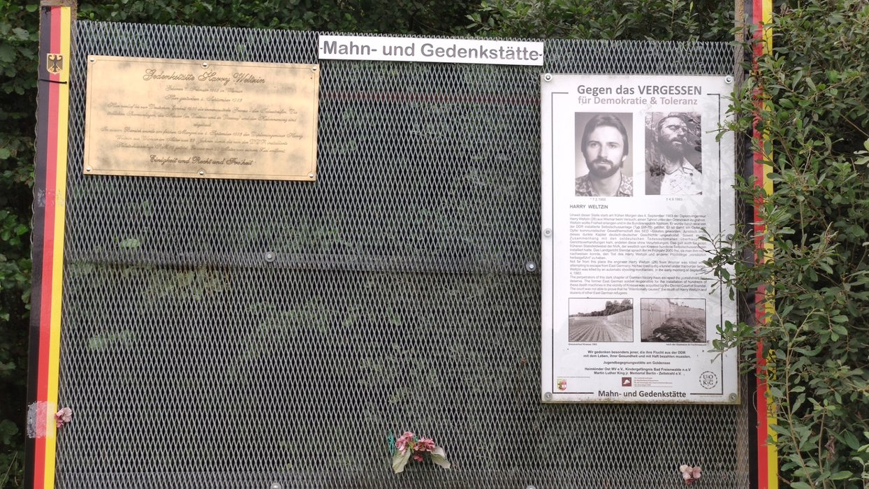Henry Weltzin found death at the border in 1983.