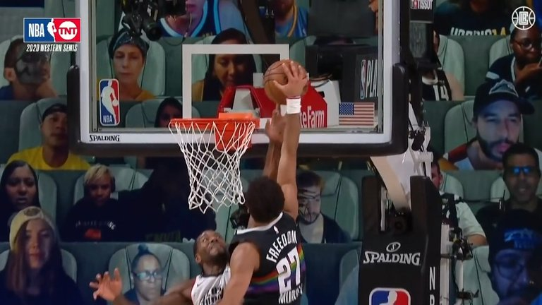 Middle fingerKawhi Leonard Blocks the Shot with ONE FINGER  Clippers vs. Nuggets  Game Three.mp4_snapshot_00.25.786.jpg