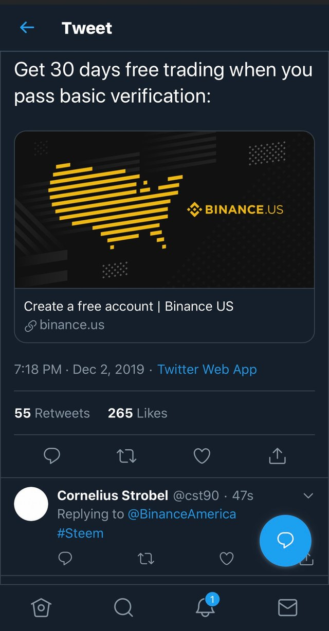 Binance.US on Twitter httpst.coAZwoBOgsqS is home to 25 digital assets and counting. What digital assets would you like to.png