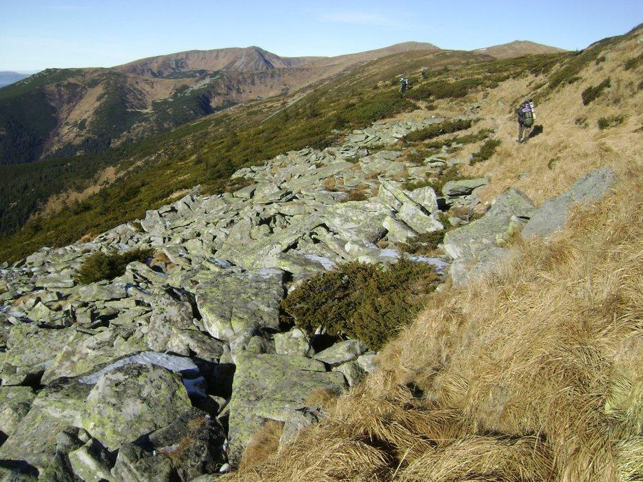 The rocky path