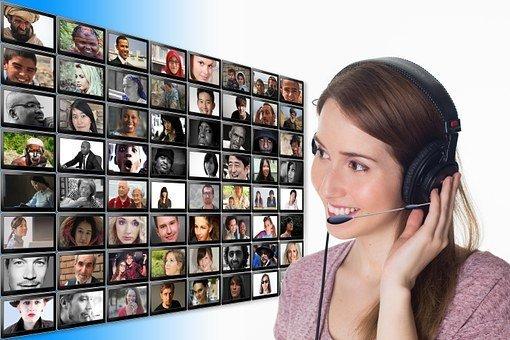 People, Communication, Headset