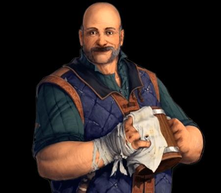 Gérald Legros, notre fidèle tavernier