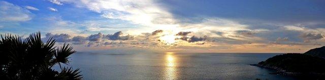 Sunset from Karon