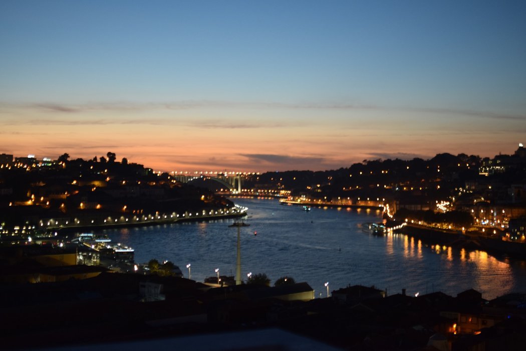 Watching Porto come alive at night