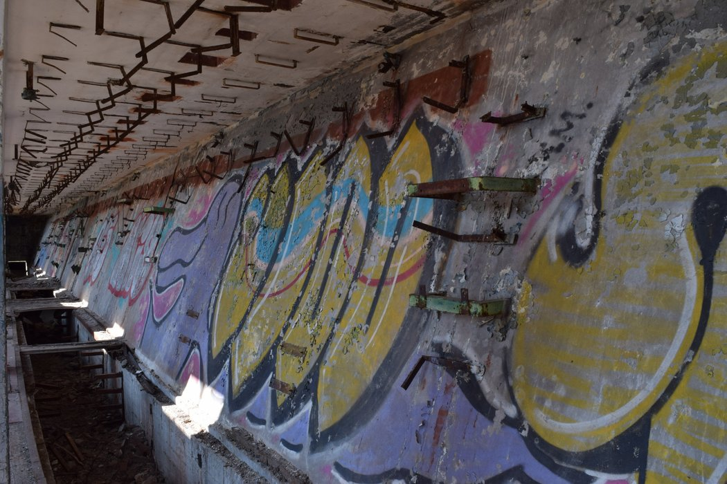 Graffiti at Hara Allveelavade Sadam