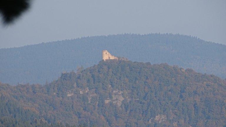 Zamek Chojnik (widok z okna)