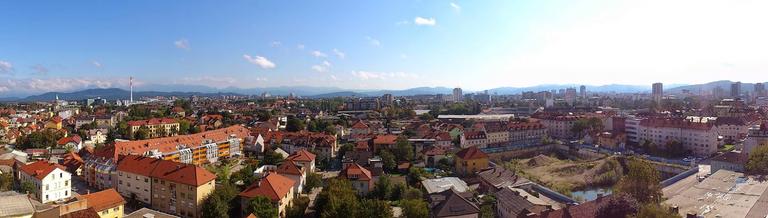 Ljubljana from the top