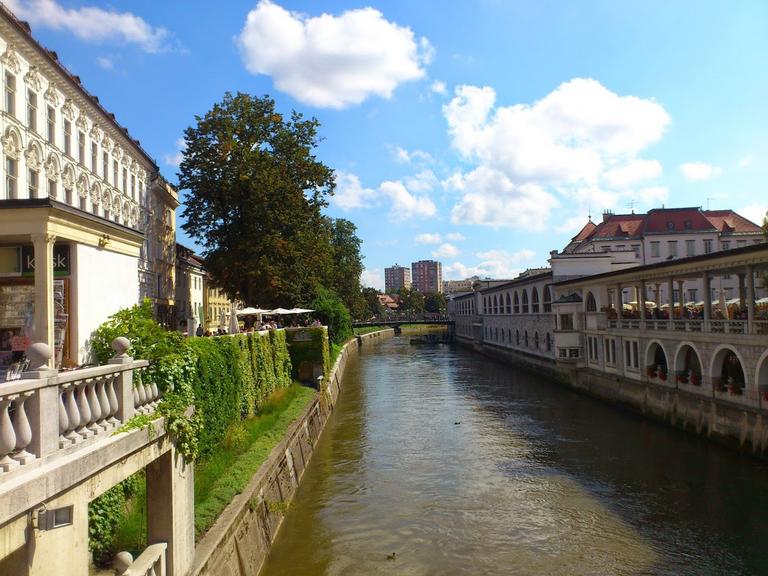 Ljublanjka river