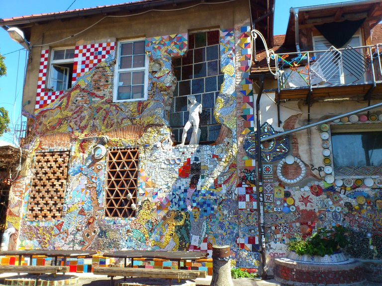 You know you're walking around Metelkova when you see such stuff