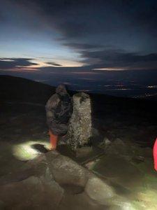 Korona Gór Polski: Babia Góra, Beskid Żywiecki. Wschód słońca i halny