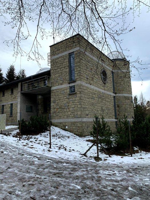 Obserwatorium Astronomiczne na szczycie Lubomira