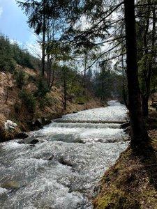 Przedwiośnie na Wielkiej Raczy. Piękność na ścieżce, widok na Tatry i ostatni raz raczki tej zimy.