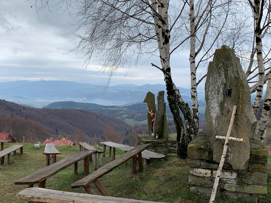 Pod Krzyżem Milenijnym - Młyńczyska