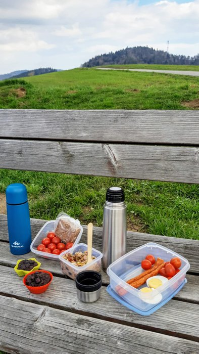 Piknik na przełęczy Widoma. Fot. Agnieszka