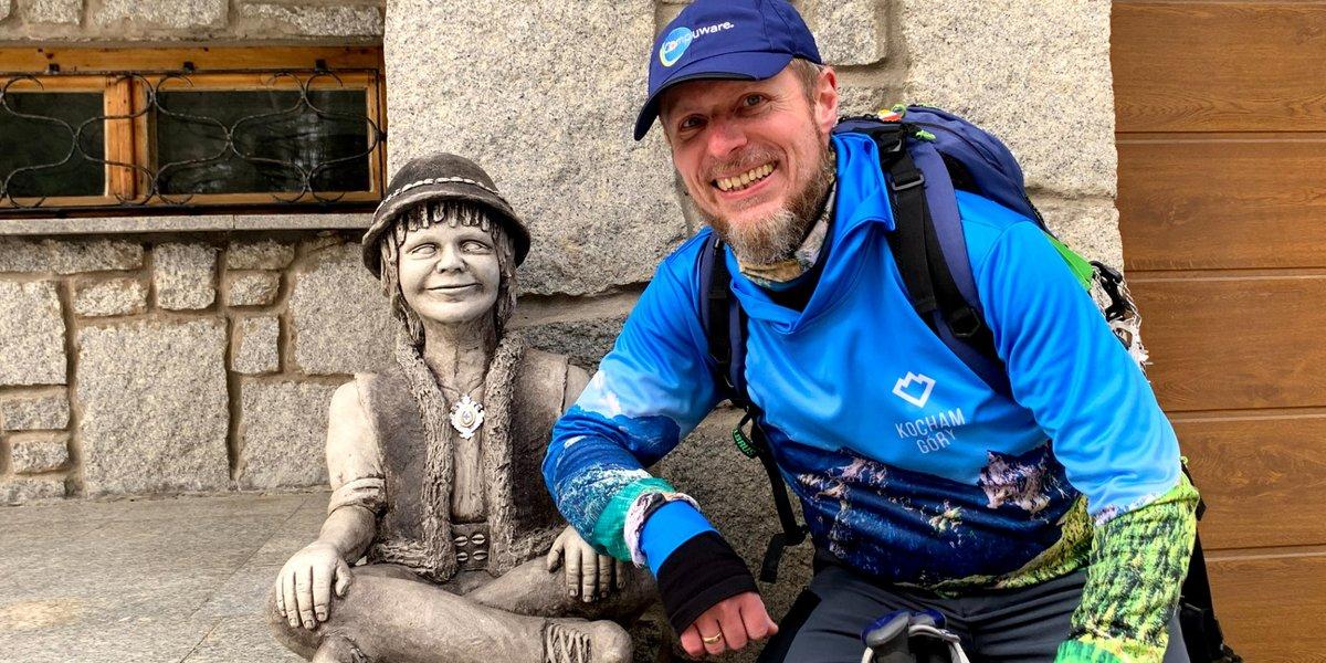 Kwiecień 2021 na szlakach. Wielka Racza, Gorce i Tour de Beskid Wyspowy.