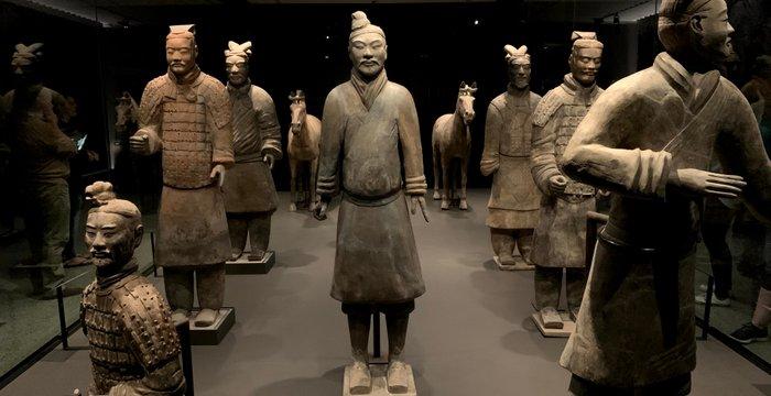 The Terracotta Army Exhibition / Los guerreros de terracota en museo Te Papa, Wellington, NZ [EN/ES]