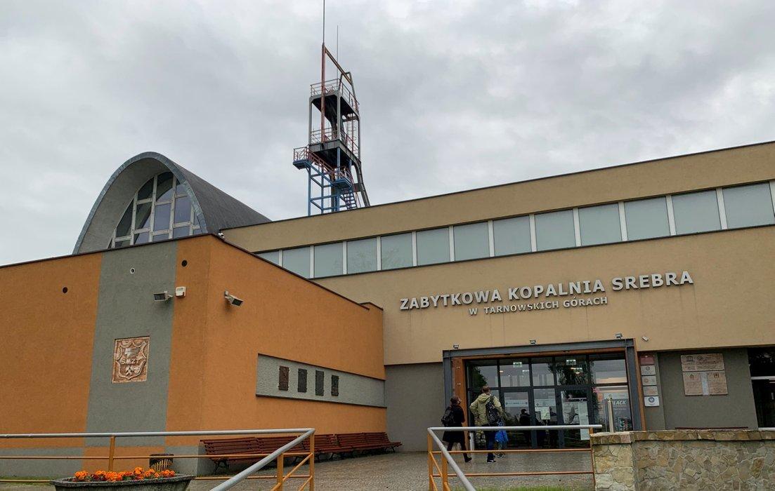 Wejście do kopalni - muzeum