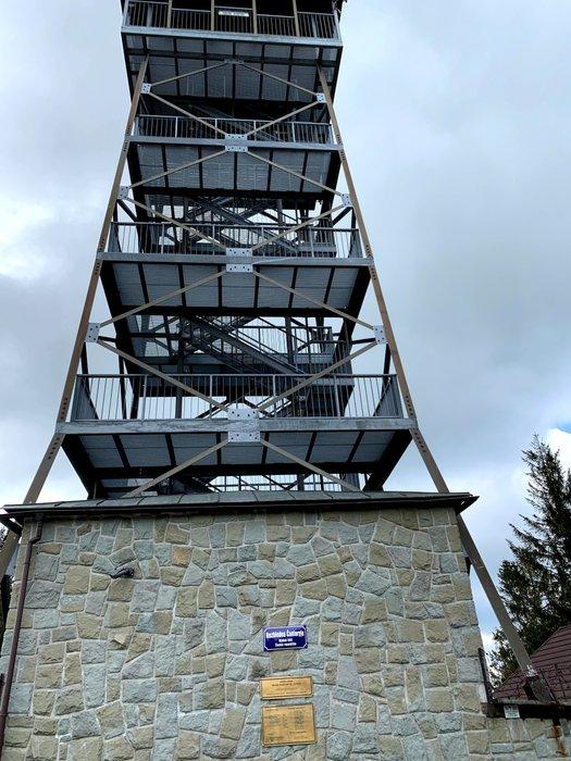 Wieża widokowa na Czantorii (Razhledna Čantoryje)