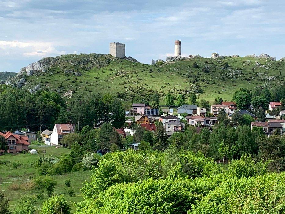 Olsztyn i ruiny zamku