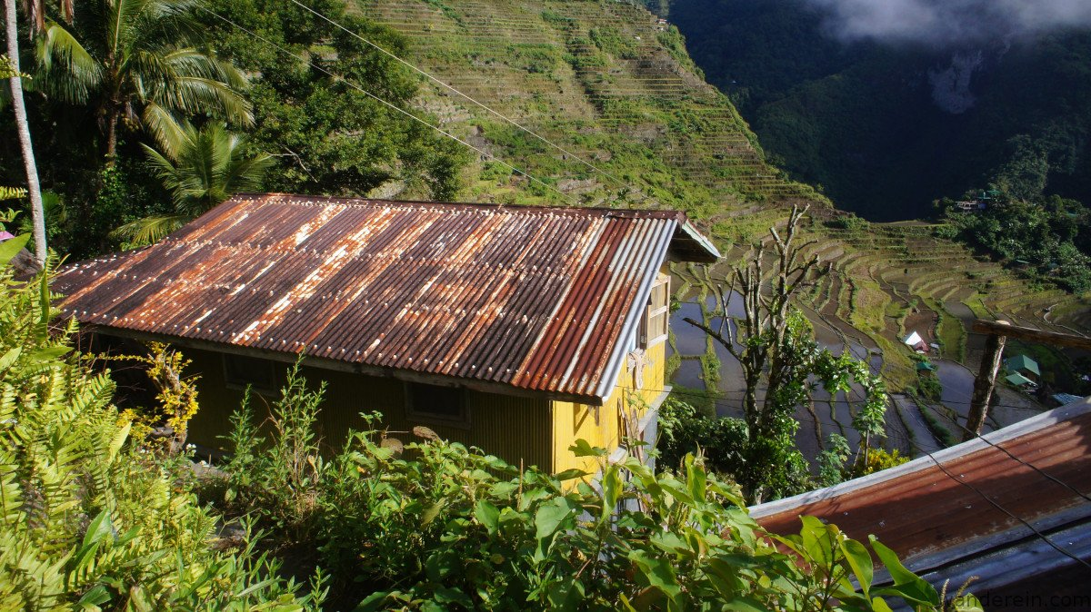 Not the best for the rice terraces' aesthetics and culture, but an economical option