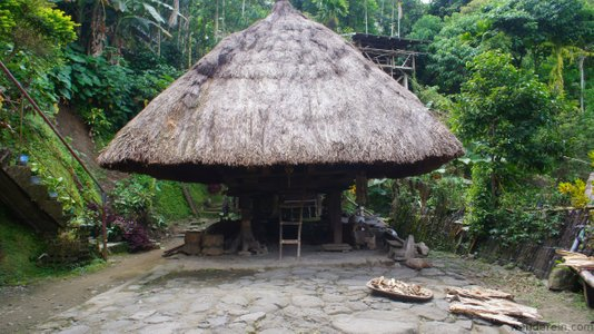The Anatomy of the Ifugao Native Hut | Batad Rice Terraces