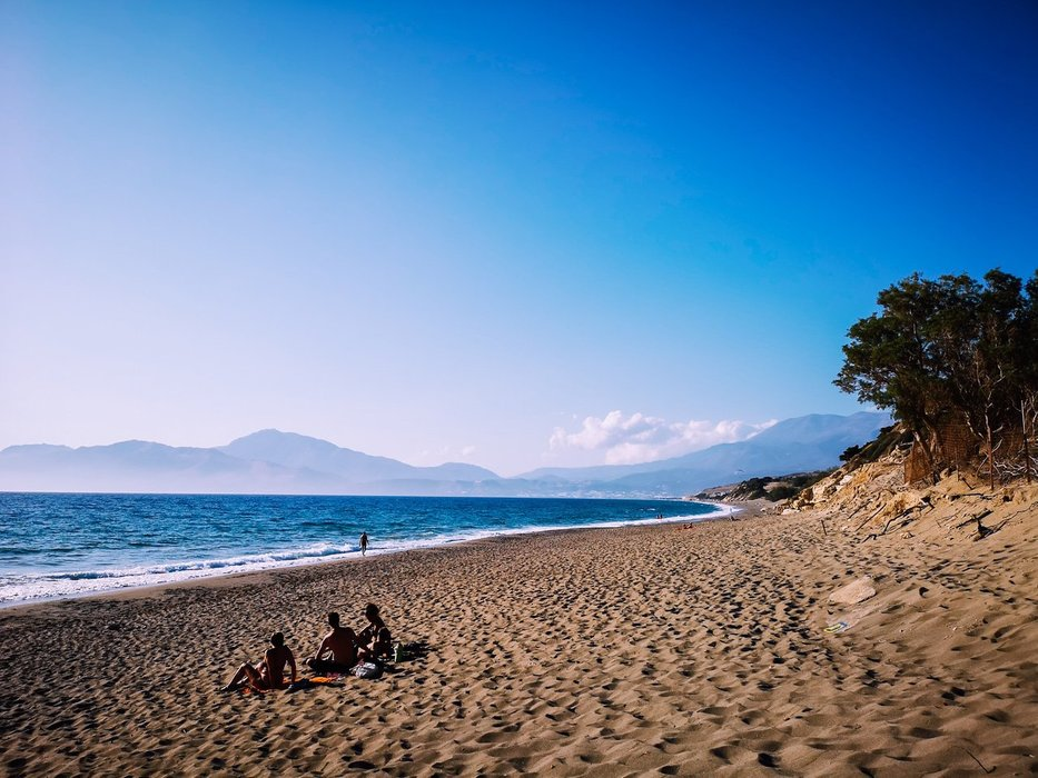 Kommos Beach, Crete Island