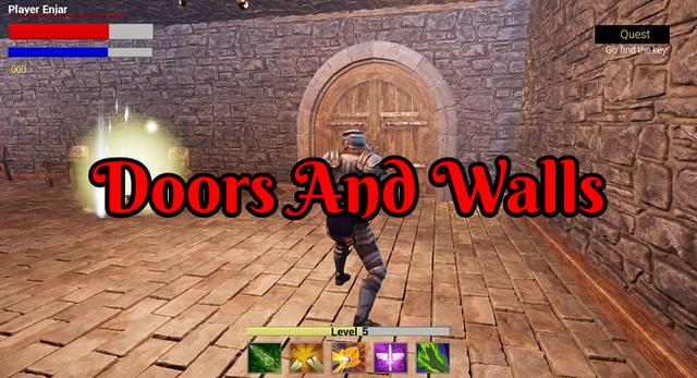 working on doors and hidden walls in unreal engine 4.png