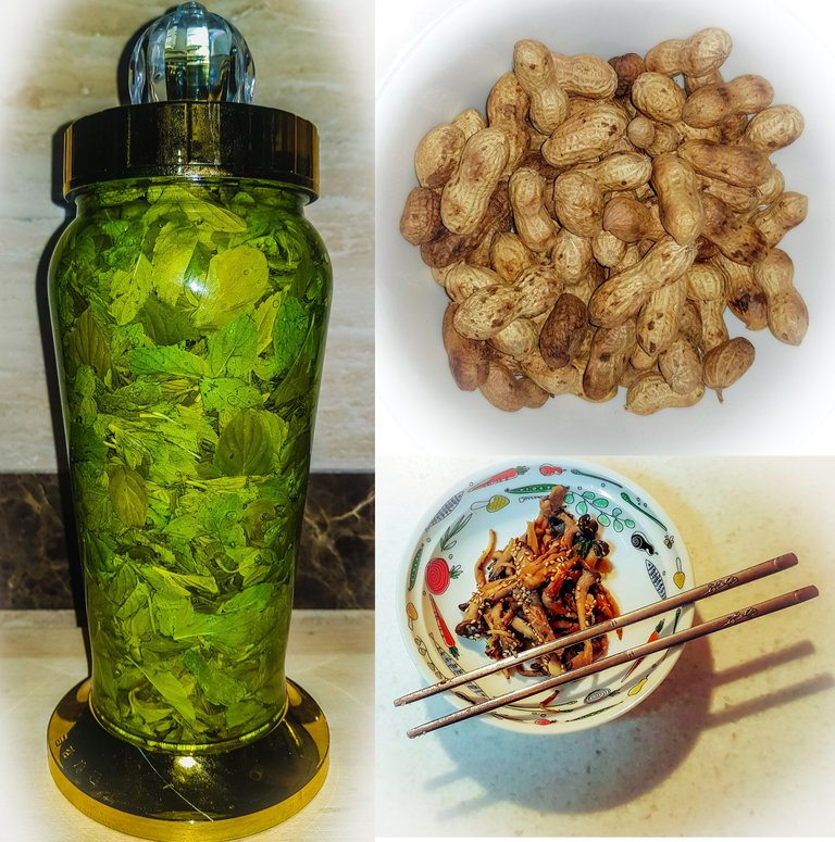 mint liquor peanuts and mushroom side dish.jpg