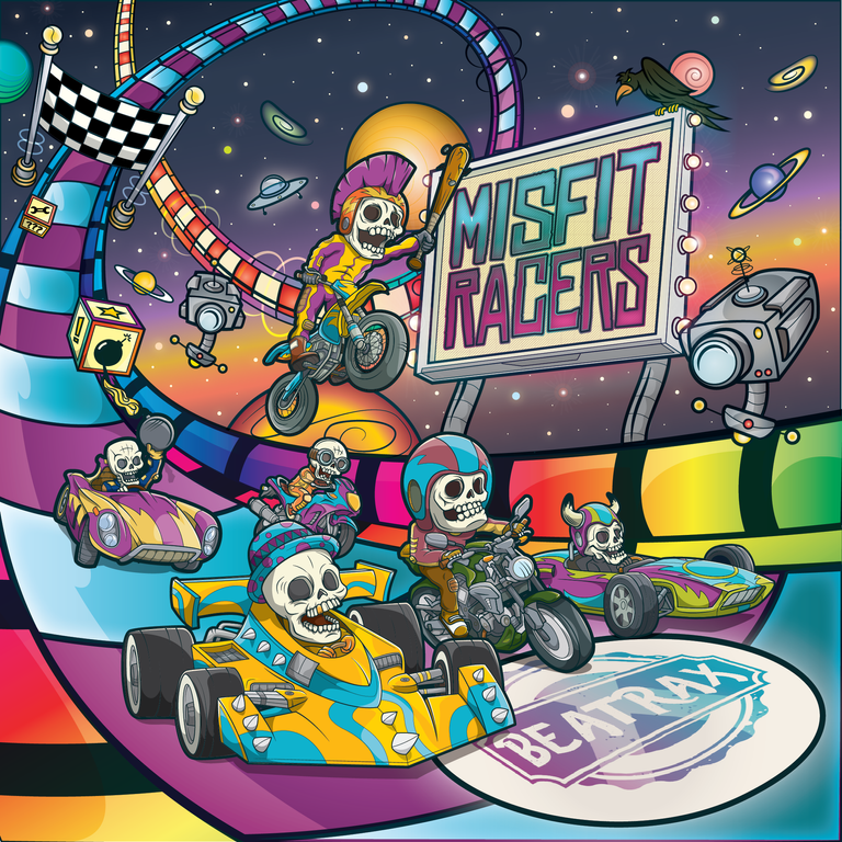 CD Cover BeaTraxx - Misfit Racers.png