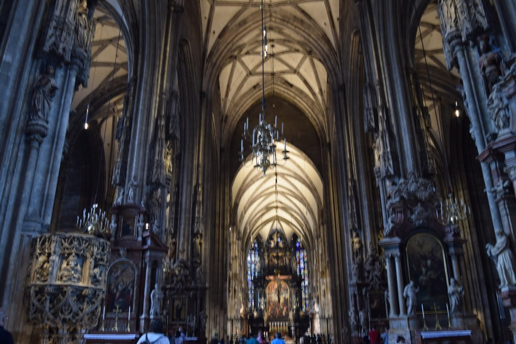 A look inside St Stephens Cathedral