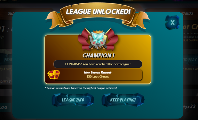 WE ARE THE CHAMPIONS, MY FRIEND!