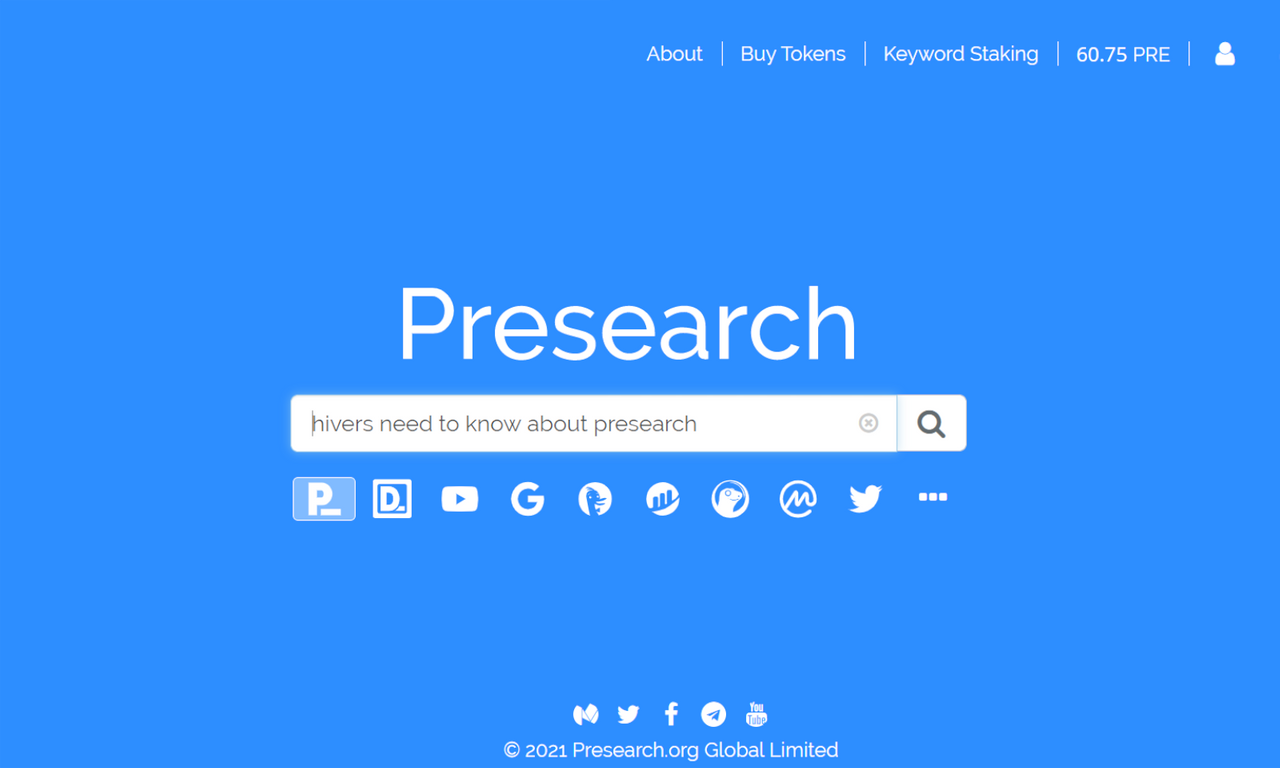 Presearch.org 👨💻 Earn Free Crypto For Your Web Searches (I Average $0.57 per day)