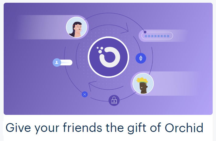 Coinbase FREE Orchid