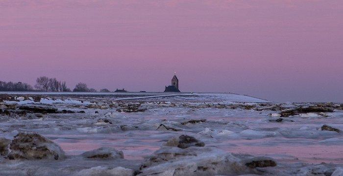 Winter on the Wadden sea!