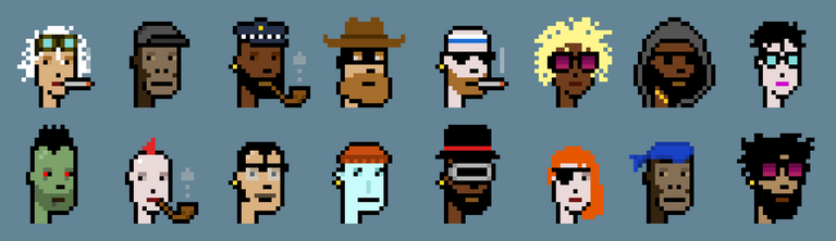 CryptoPunks Image from LarvalLabs