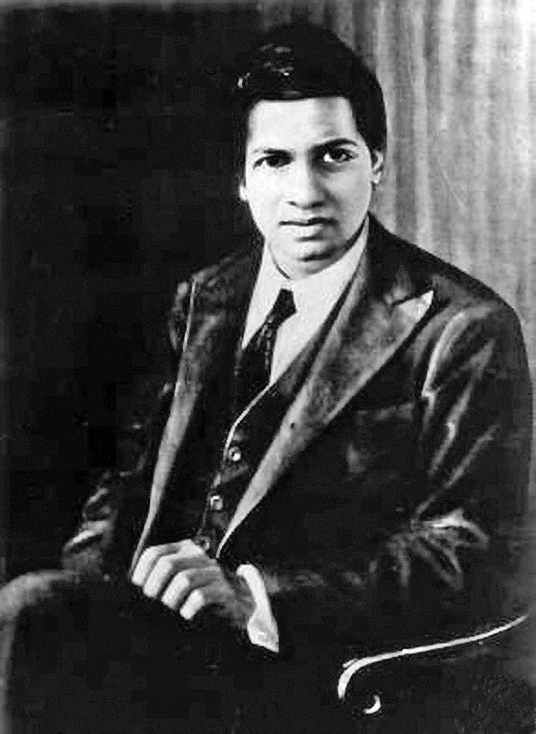 Photo of Srinivasa Ramanujan