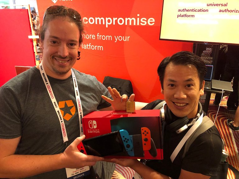 Did I just win this Nintendo Switch?