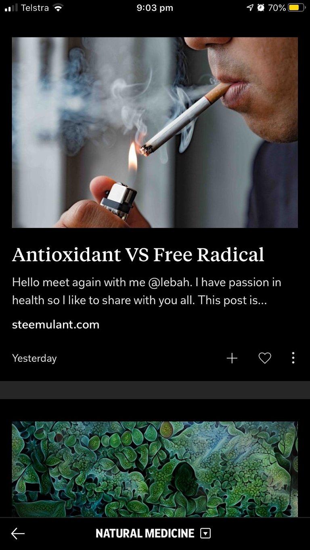 Natural Medicine magazine content