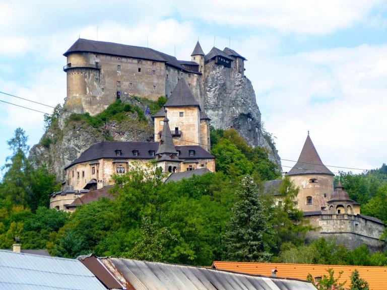 Spectacular Orava castle