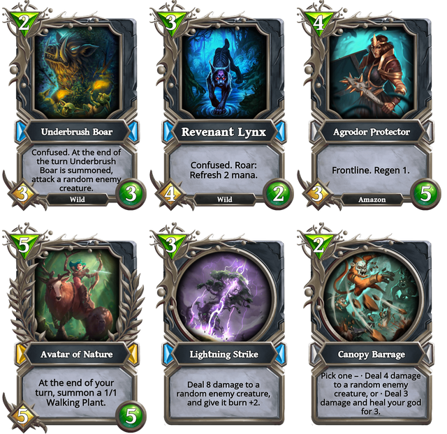 Midrange Nature Core cards.png