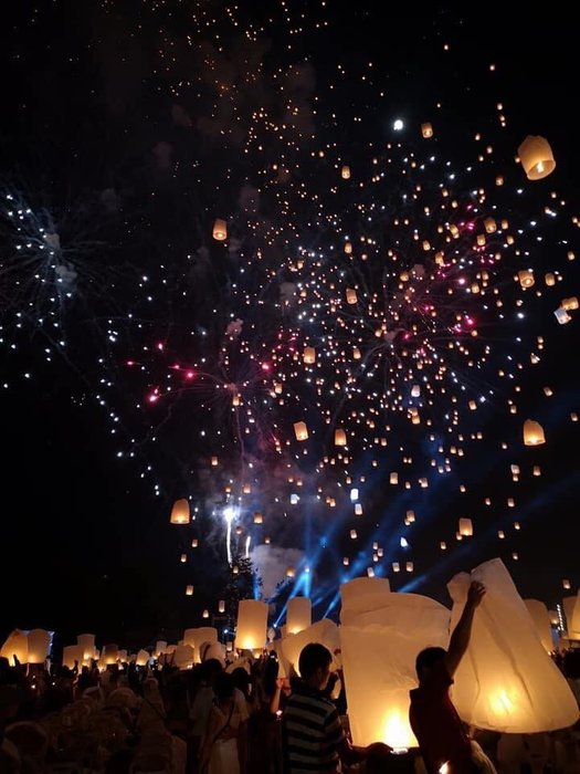 Loy Kratong Festival in Chiang Mai