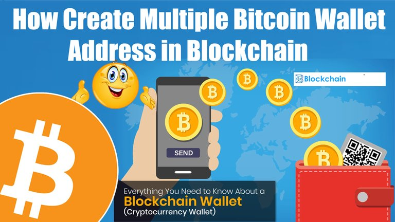 How Create Multiple Bitcoin Wallet Address in Blockchain By Crypto Wallets Info.jpg