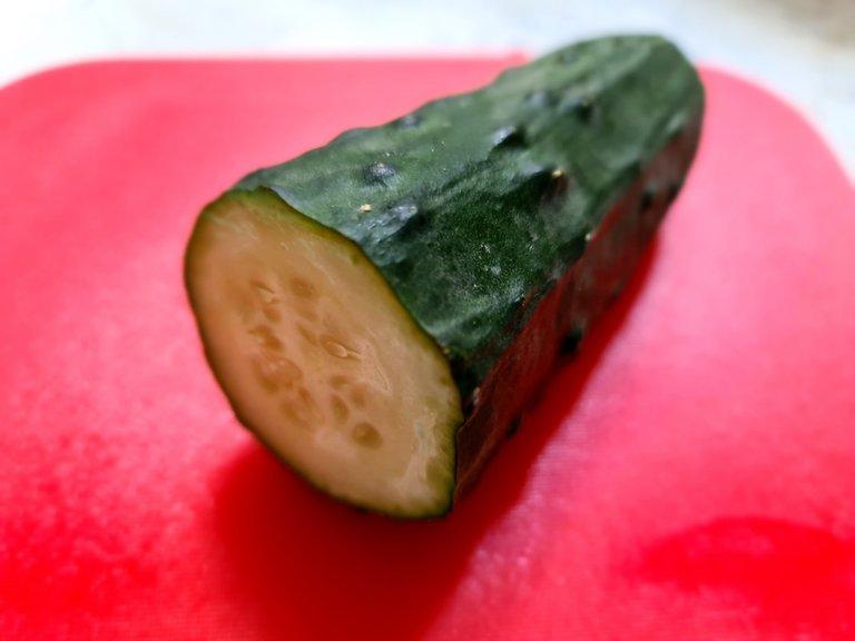 Cutted Cucumber