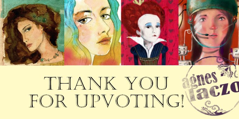 agnes laczo art thank you for upvoting steemit.jpg