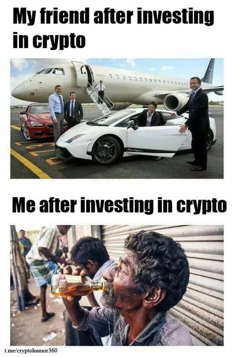 MyFriendAfterInvestingInCryptovsMeAfterInvestingInCryptoCryptoMemes.jpg