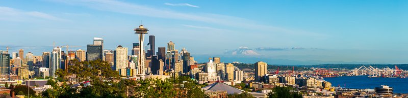 seattle kerry park panoramic image