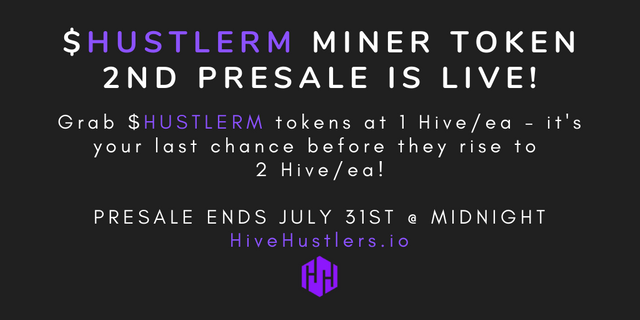 HUSTLERM Miner token 2nd presale.png