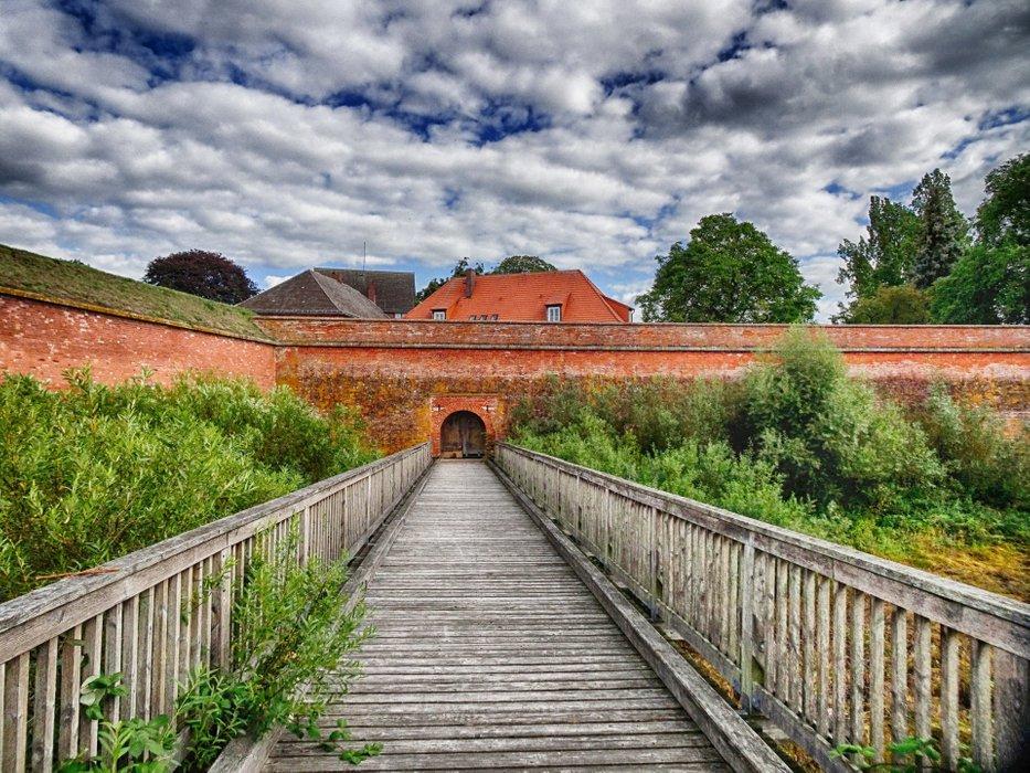 Fortress Dömitz - looks like a small Malbork.