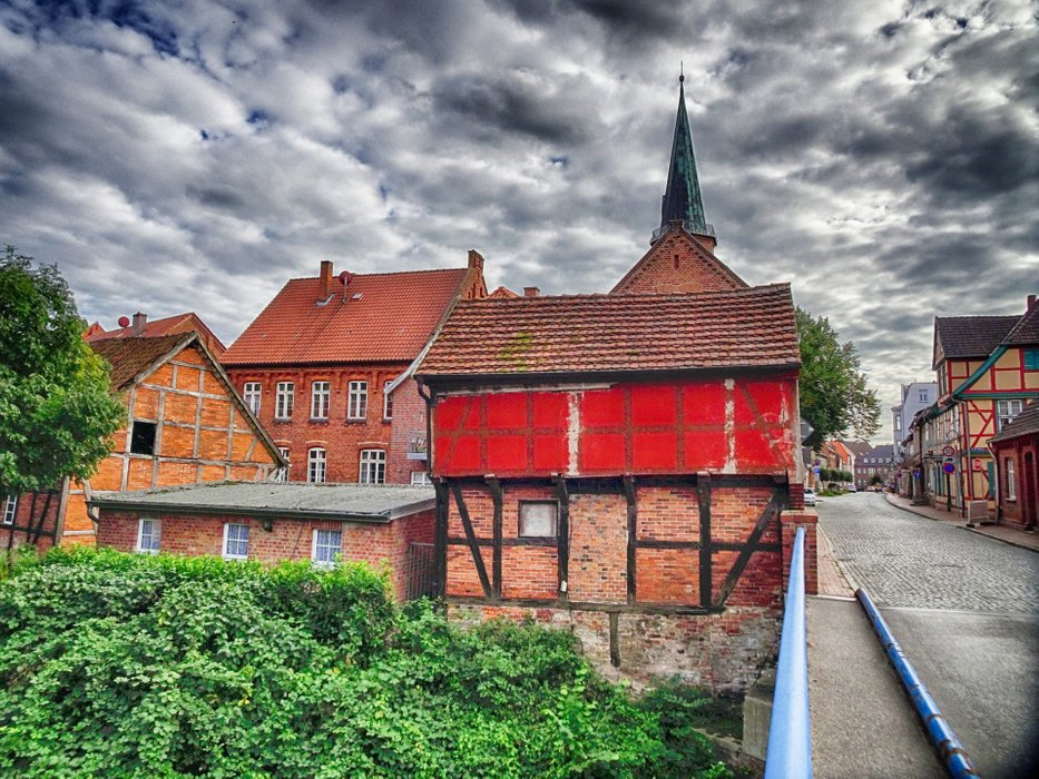 Dömitz is a small but beautiful town with a hard fate.