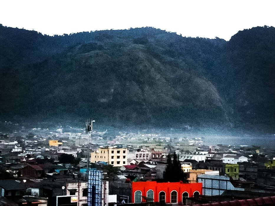 The view of Takengon Town